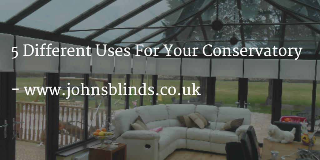 5 Different Uses For A Conservatory